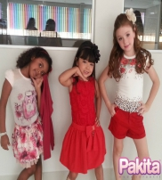 Pakita Moda Infantil Collection  2015